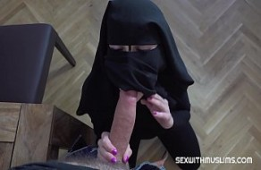 Pauvres musulmans niqab fille